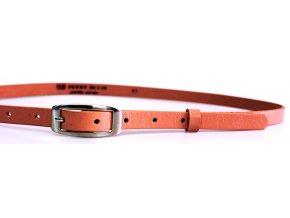 Dámský kožený pásek 15-2-503 růžový