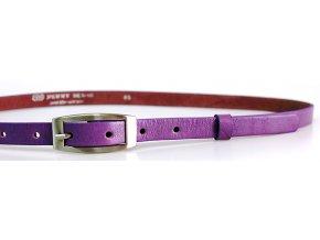 Pásek dámský kožený 15-2-54 fialový