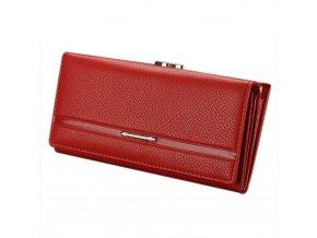 Dámská peněženka luxusní červená