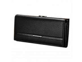Dámská peněženka luxusní černá