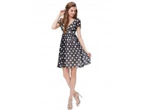 Ever Pretty letní šaty puntíkaté 3933