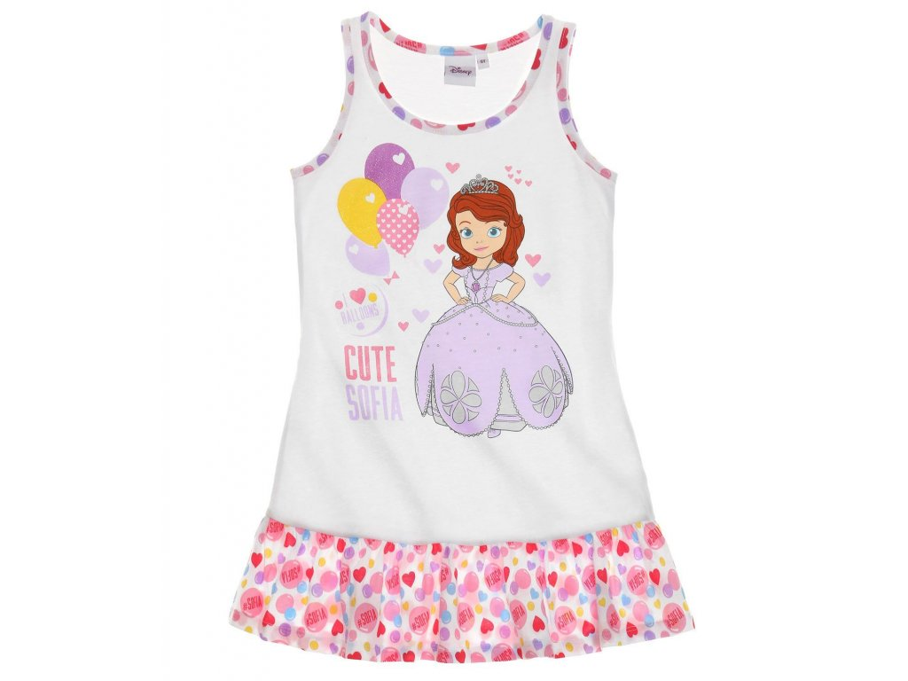 girls disney sofia the first nightgown white full 17517