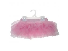 bac03749 baby girls plain light pink tutu skirt by soft touch