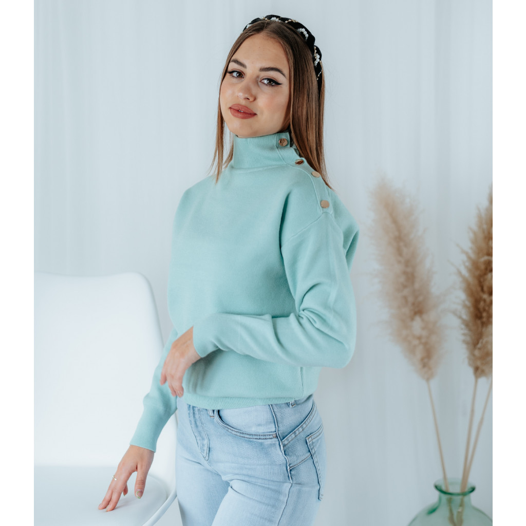 mint svetr