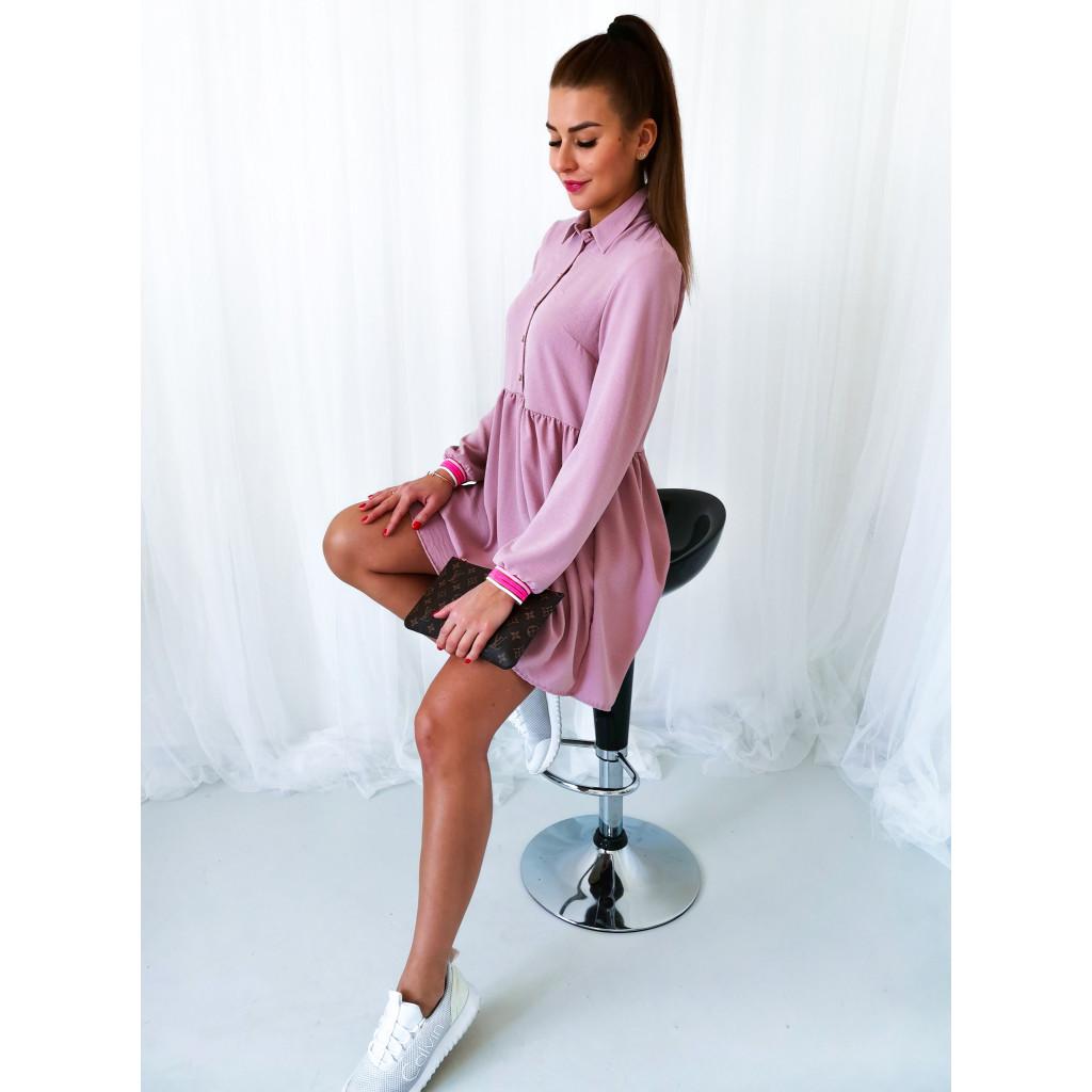 růžové šaty 2