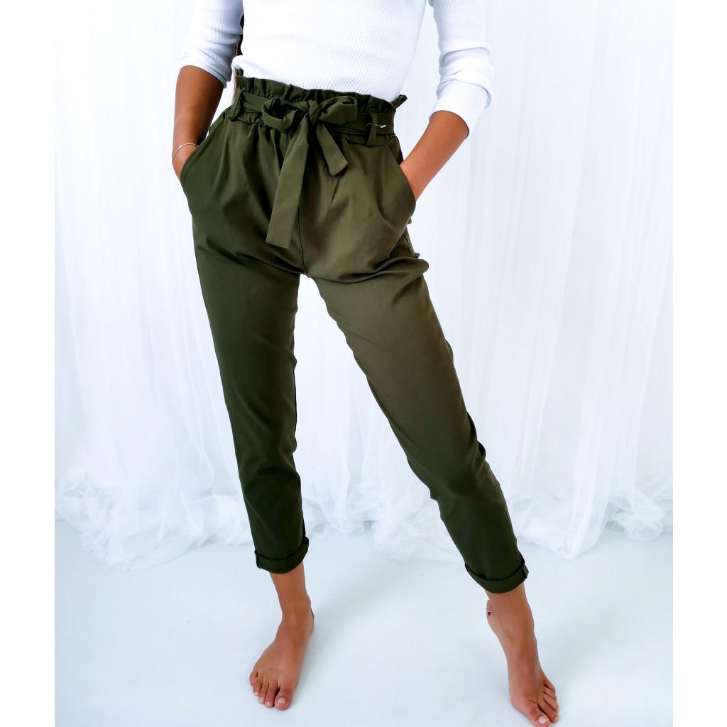 khaki kalhoty 2