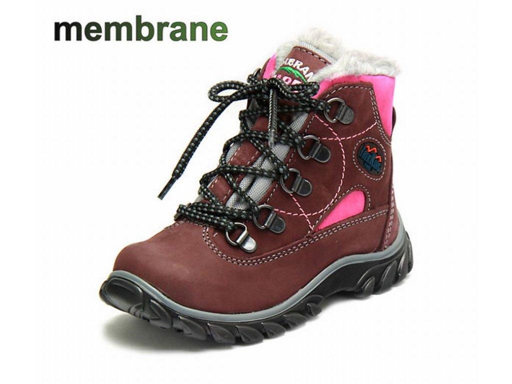 Zimní dětské boty FARE 847253, membrána
