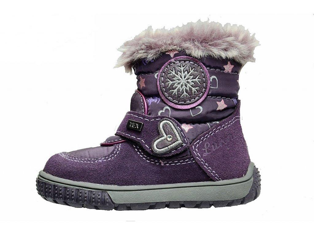 Zimní dívčí dětské boty, obuv LURCHI, model 33-14661-29