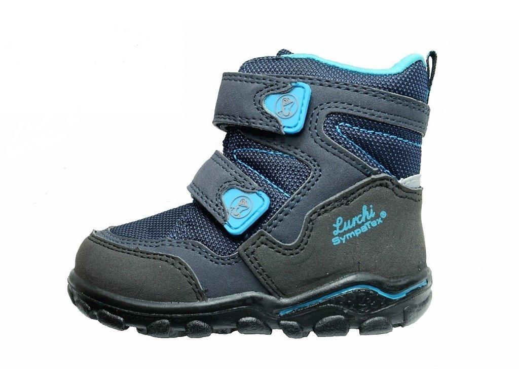 Zimní chlapecké dětské boty, obuv LURCHI, model 33-33003-32