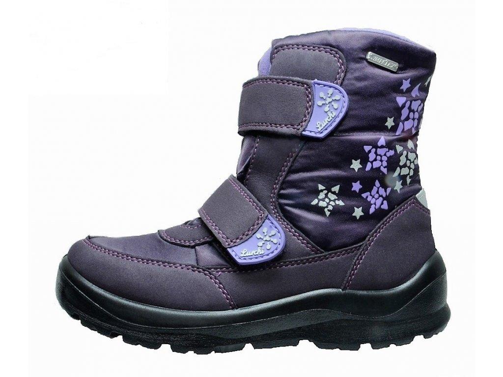 Zimní dívčí dětské boty, obuv LURCHI, model 33-31011-39