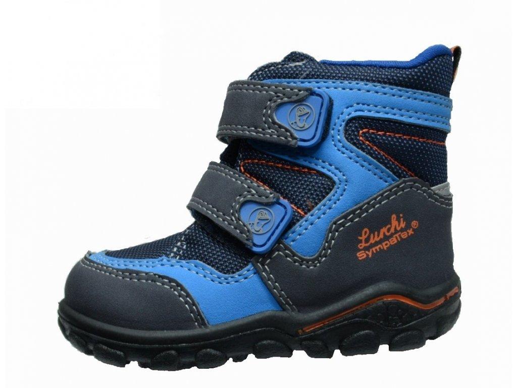 Zimní chlapecké dětské boty, obuv LURCHI, model 33-33003-42