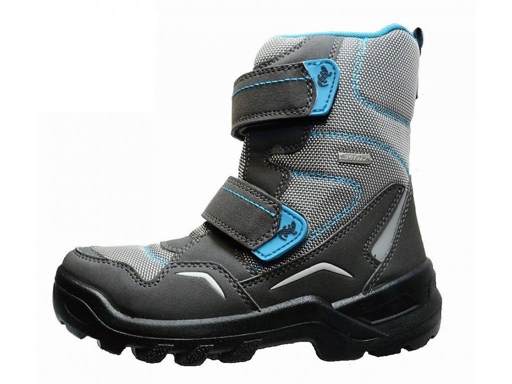 Zimní chlapecké dětské boty, obuv LURCHI, model 33-31010-35