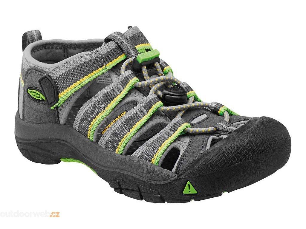 Dětské sandále Newport H2 KEEN racer gray