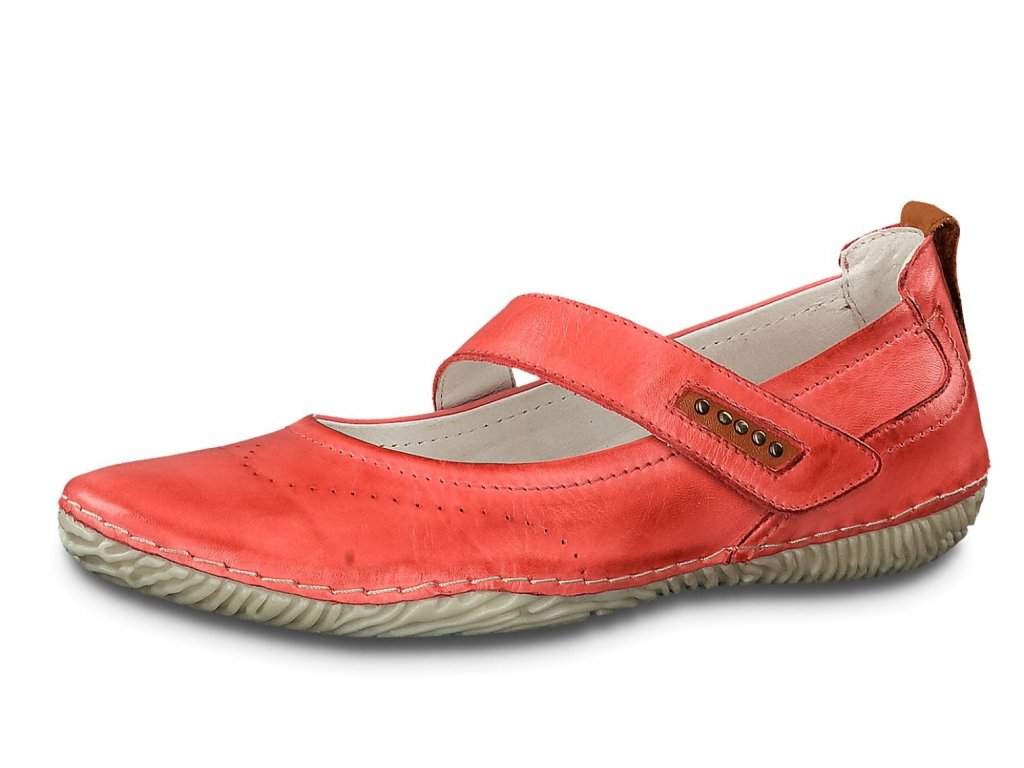 Dámské baleríny JANA, model 8-24618-22 500 red