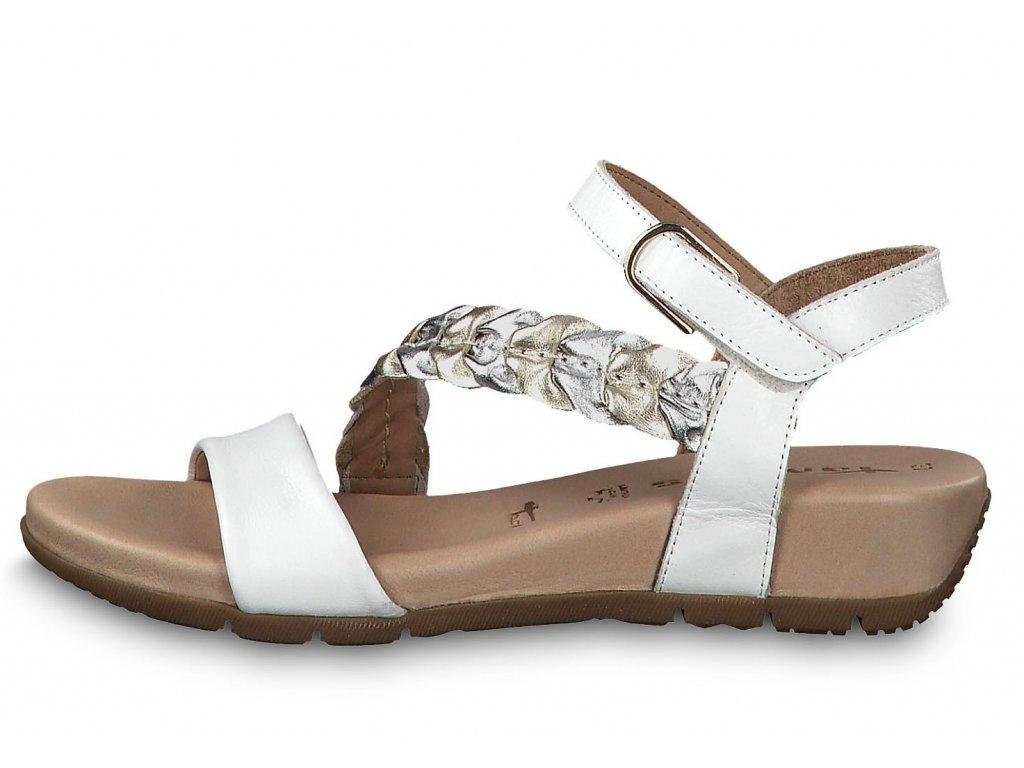 Dámské letní boty TAMARIS, model 1-28232-22 197 white comb.