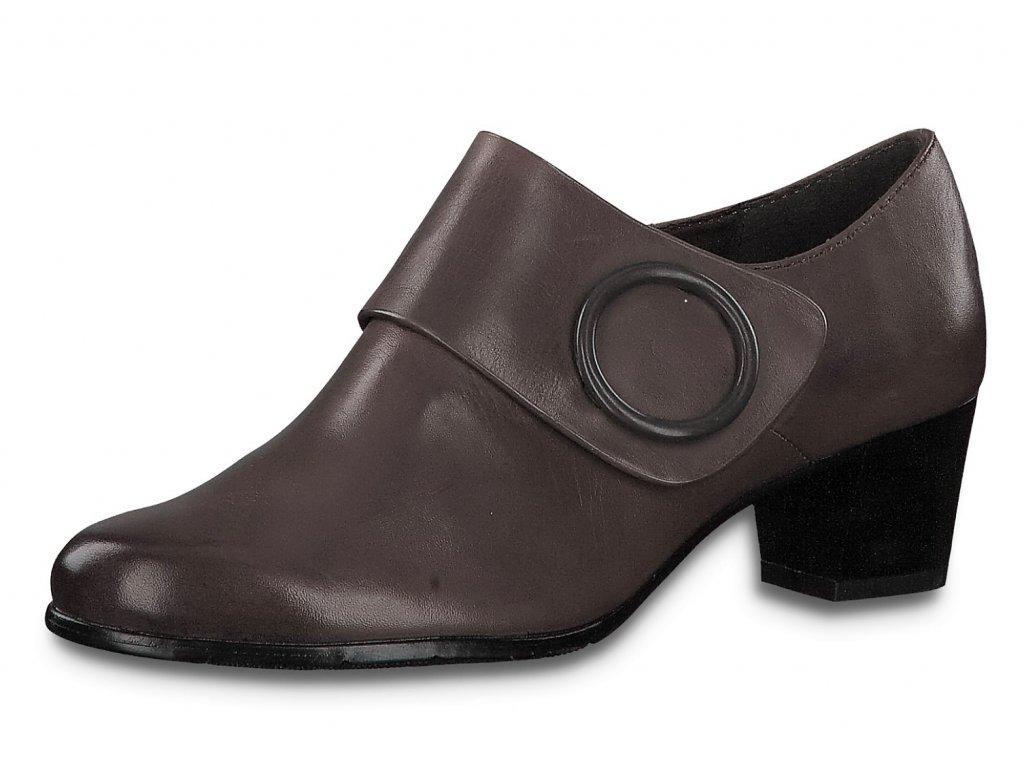 Dámské kotníkové boty JANA, model 8-24405-23 206 graphite