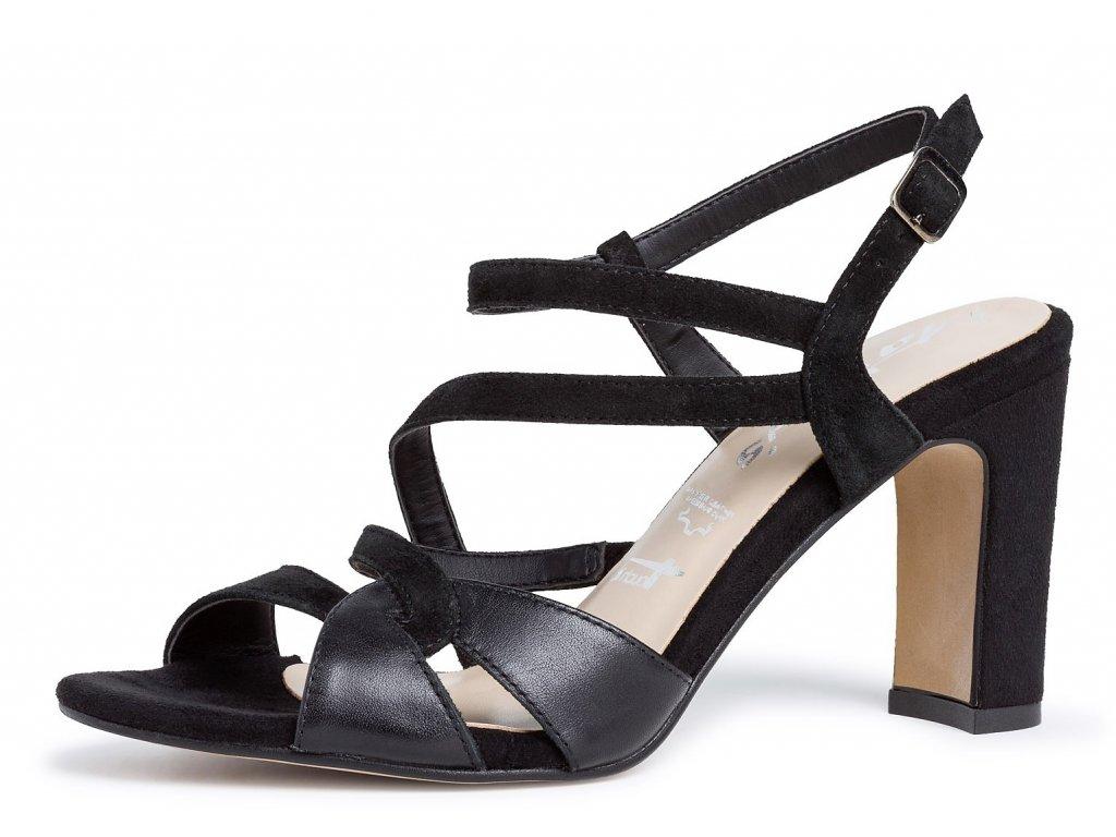 Dámské letní boty TAMARIS, model 1-28397-24 013 black