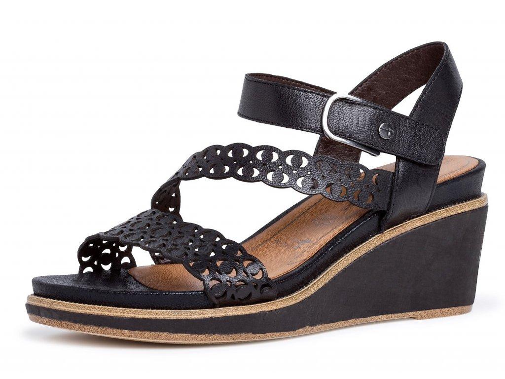 Dámské letní boty TAMARIS, model 1-28022-24 001 black