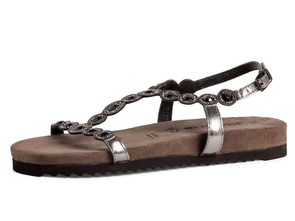 Dámské letní boty TAMARIS, model 1-28241-24 966 pewter glam