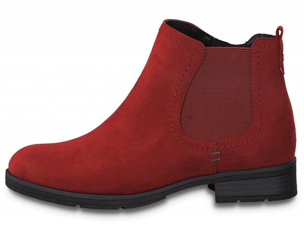 Dámské kotníkové boty JANA, model 8-25376-25 555 fire