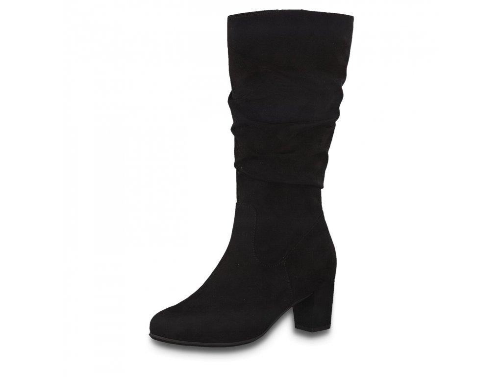 Dámské kozačky JANA, model 8-25368-25 001 black