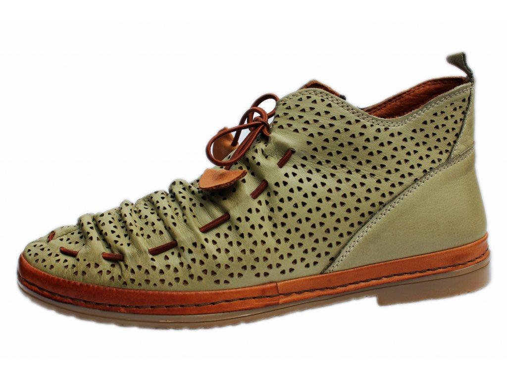Dámské kotníkové boty MANITU, model 991516
