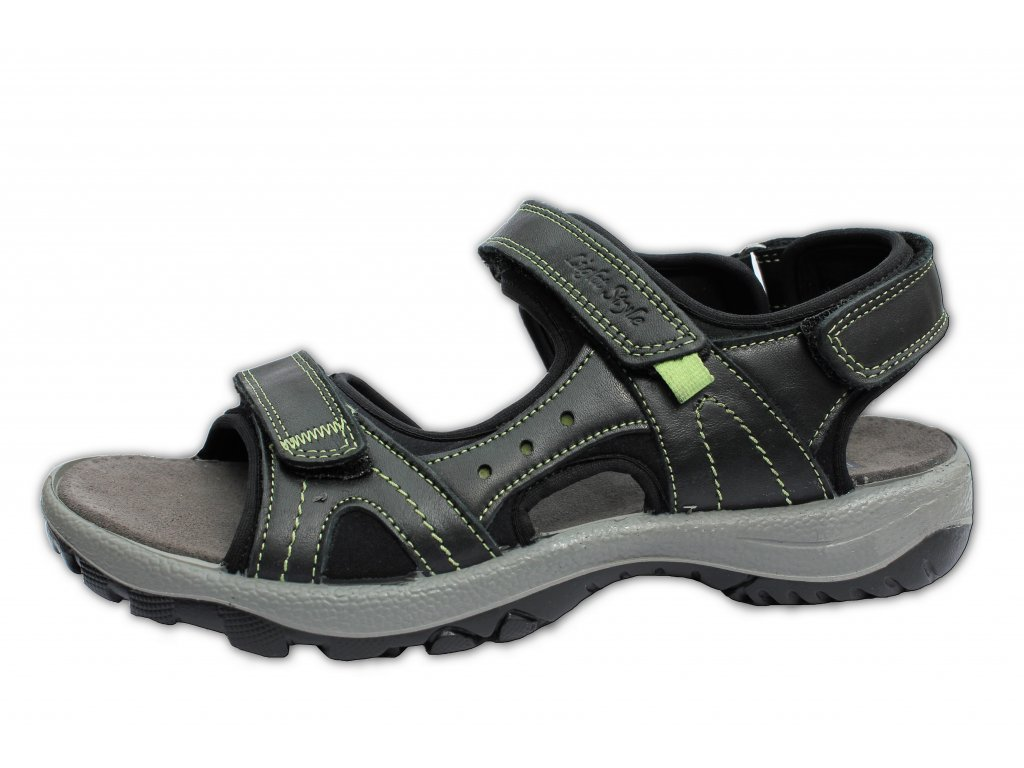 Dámské letní sandále MANITU, model 910661/1 černé