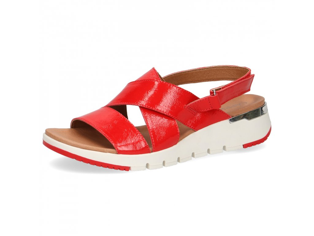 Dámské sandále CAPRICE, model 9-28700-24 555 chili naplak