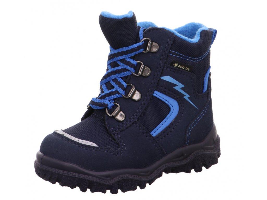 Zimní dětské boty, obuv SUPERFIT, model 1-000048-8000