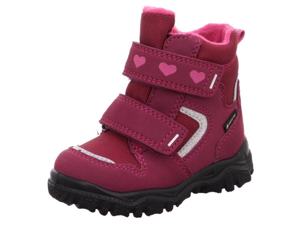 Zimní dětské boty, obuv SUPERFIT, model 1-000045-5010