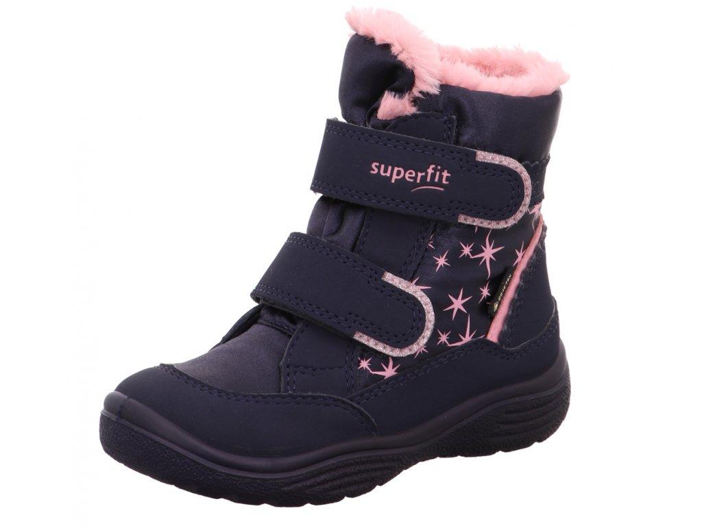 Zimní dětské boty, obuv SUPERFIT, model 1-009096-8000