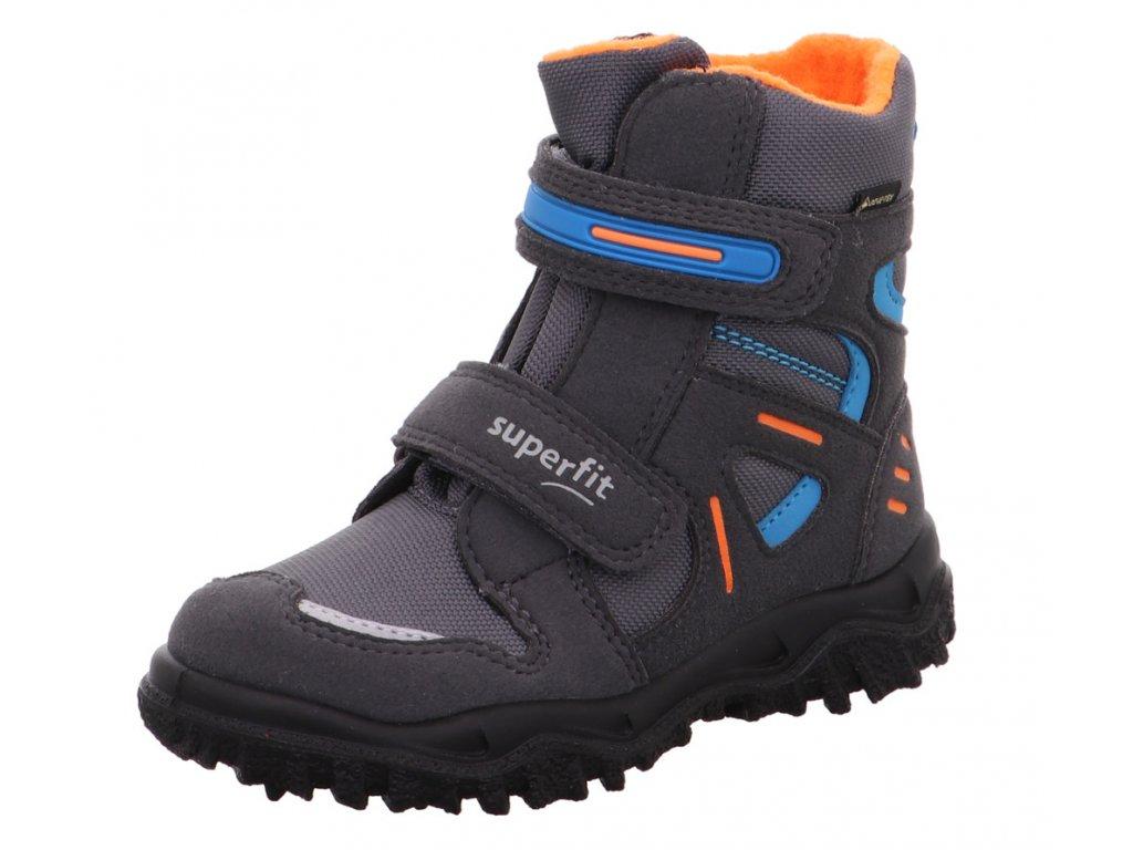 Zimní dětské boty, obuv SUPERFIT, model 1-809080-2000