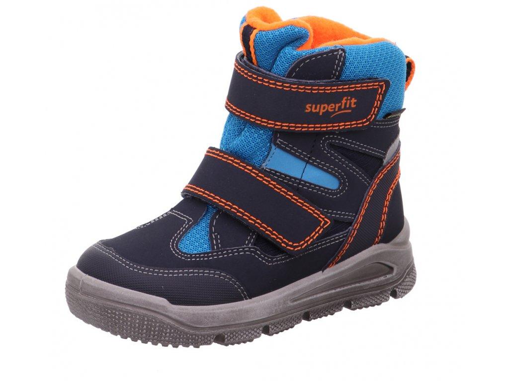 Zimní dětské boty, obuv SUPERFIT, model 1-009078-8000