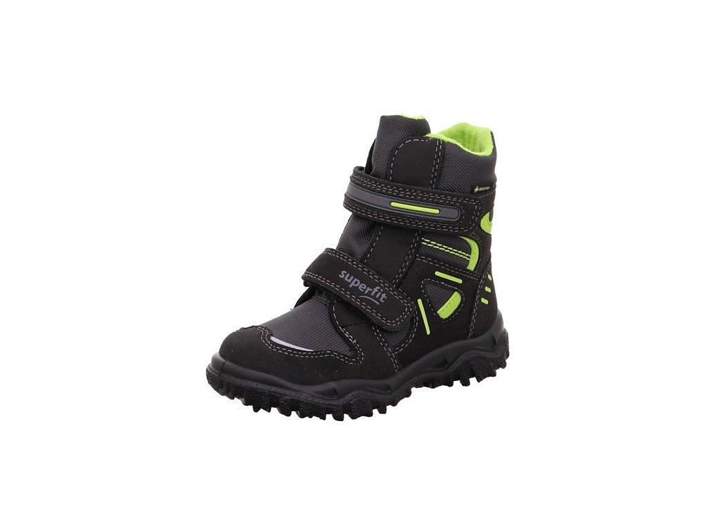 Zimní dětské boty, obuv SUPERFIT, model 0-809080-0300