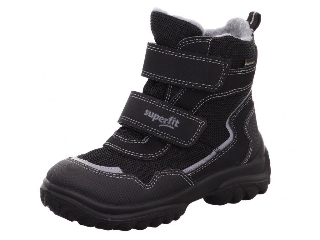 Zimní dětské boty, obuv SUPERFIT, model 1-000024-0000