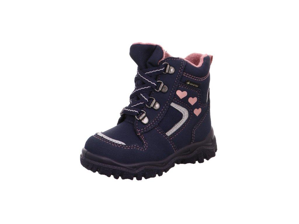 Zimní dětské boty, obuv SUPERFIT, model 1-000046-8000