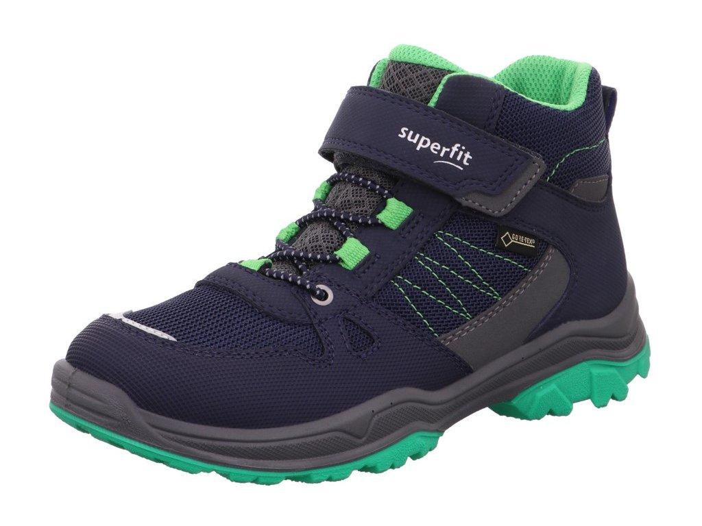 Celoroční dětské boty, obuv SUPERFIT - GORE TEX, model 1-000072-8000