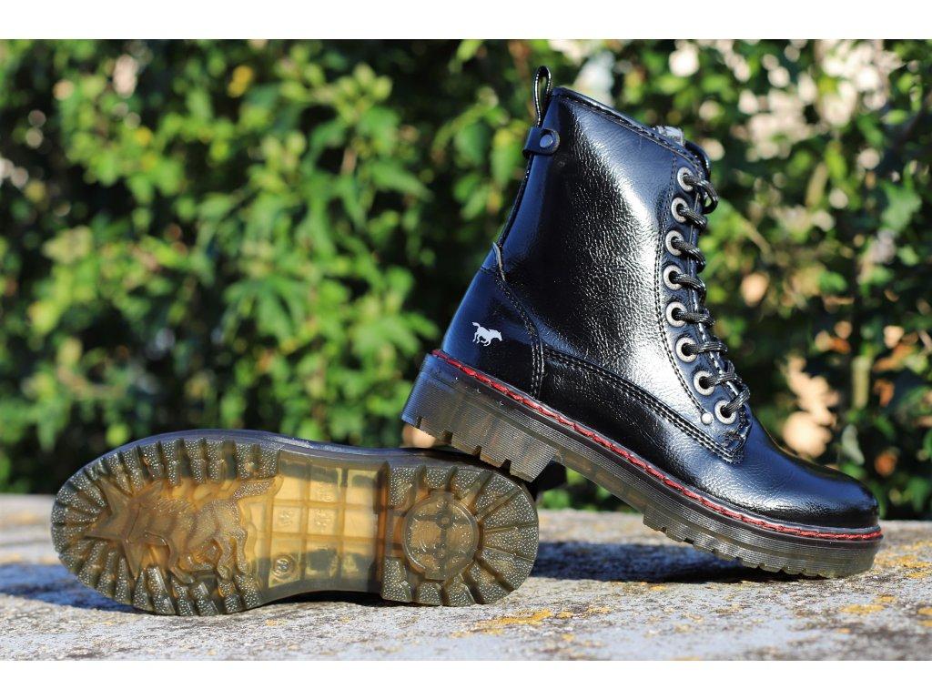 Dámské kotníkové boty MUSTANG, model 1235-503-9