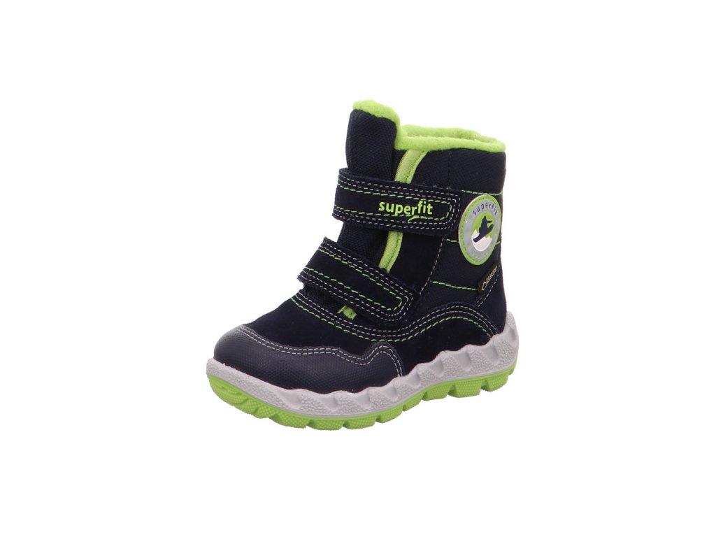 Zimní dětské boty, obuv SUPERFIT, model 1-009013-8000