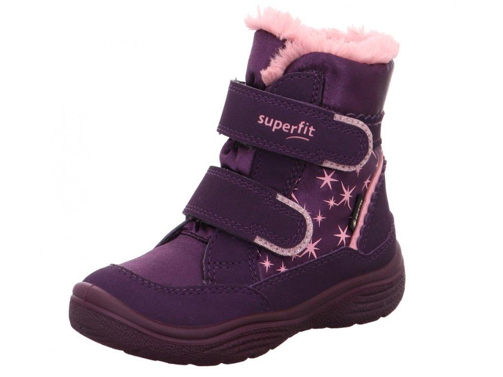 Zimní dětské boty, obuv SUPERFIT, model 1-009096-8500