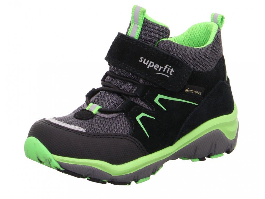 Celoroční dětské boty SUPERFIT - GORE TEX, model 1-000243-0000