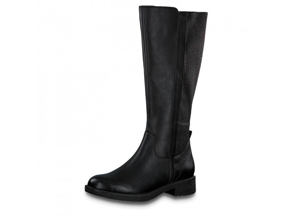 Dámské kozačky JANA, model 8-25560-25 001 black