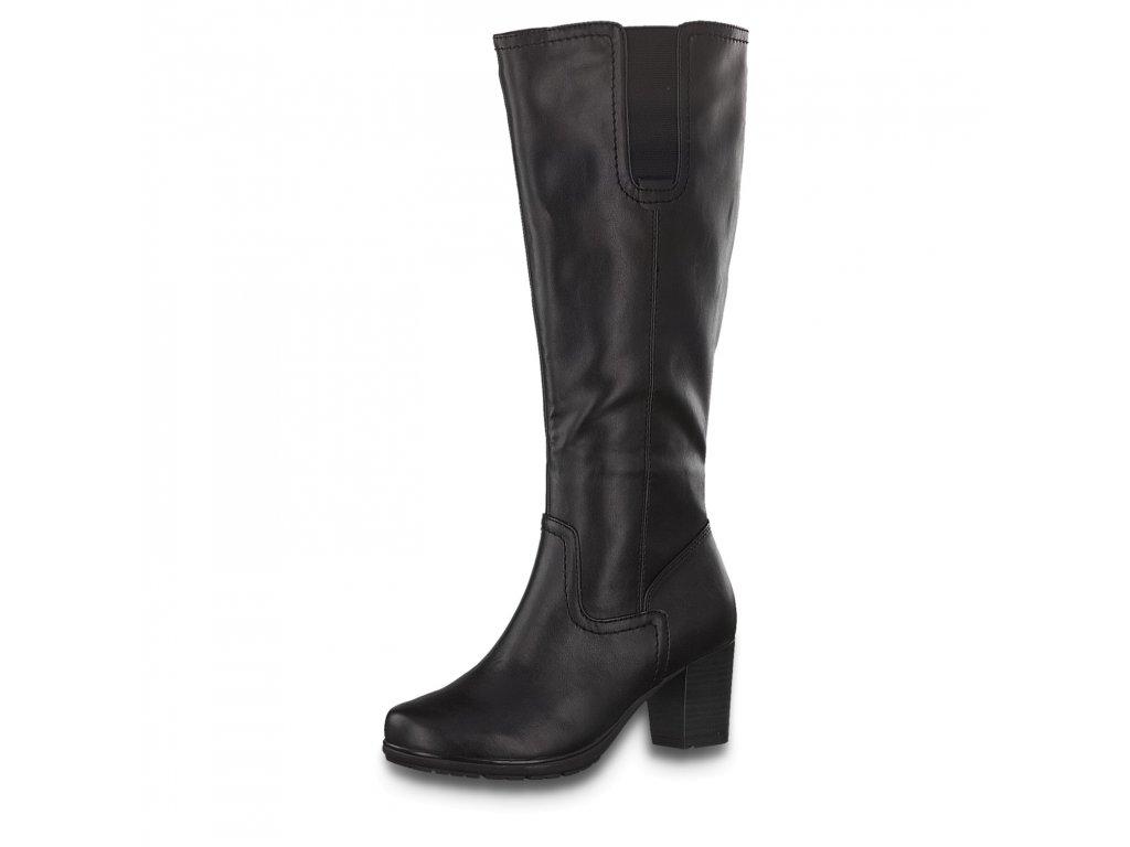 Dámské kozačky JANA, model 8-25564-25 001 black