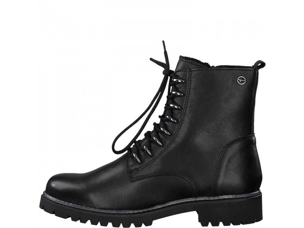 Dámské kotníkové boty TAMARIS, model 1-25234-25 001 black