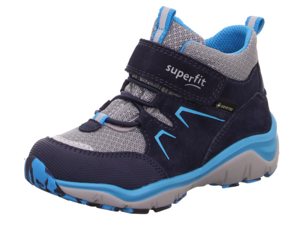 Celoroční dětské boty SUPERFIT - GORE TEX, model 1-000243-8000