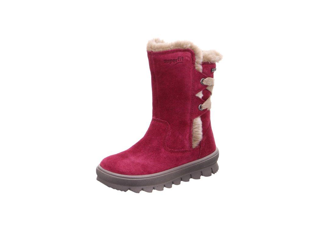 Zimní dětské boty, obuv SUPERFIT, model 1-009216-5000