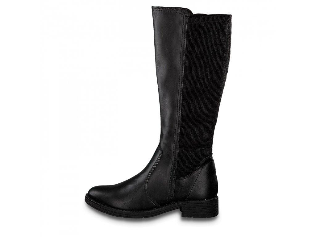 Dámské kozačky JANA, model 8-25560-23 001 black