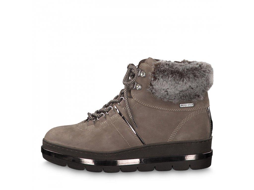 Dámské kotníkové boty TAMARIS, model 1-26203-23 344 taupe comb.
