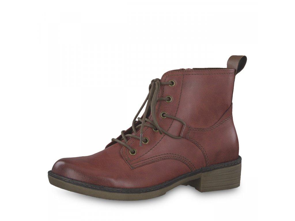 Dámské kotníkové boty TAMARIS, model 1-25116-21 536 sangria