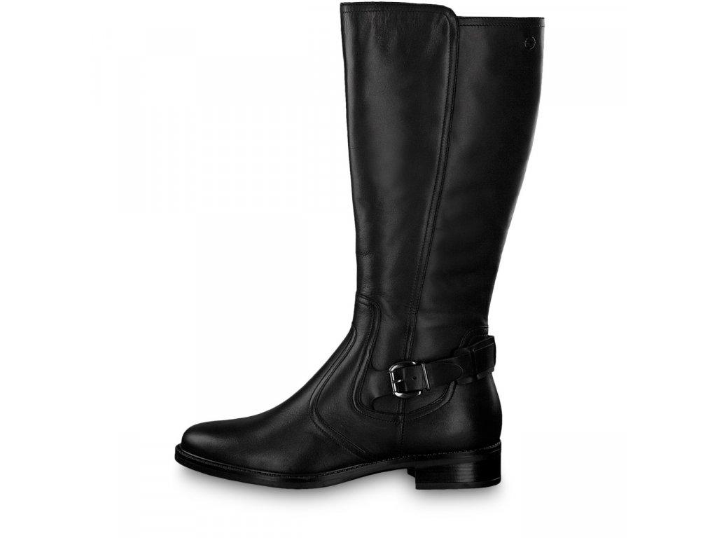 Dámské kozačky TAMARIS, model 1-25564-21 001 black